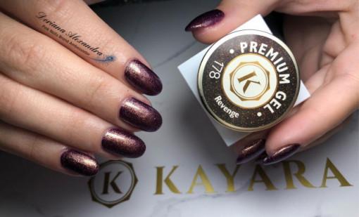 Gel color premium UV/LED Kayara 178 Revenge