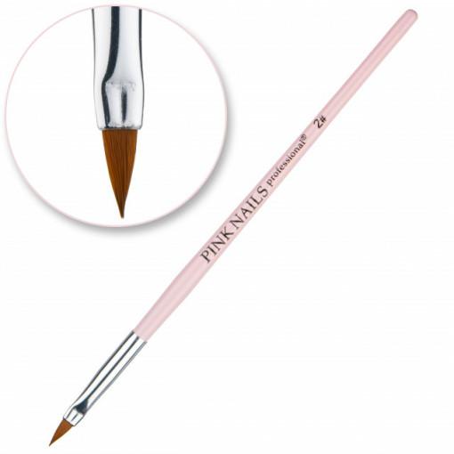 Pensula pentru acril #2 Pink Nails