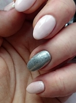 Poze Gel color Semilac 093 Silver Dust