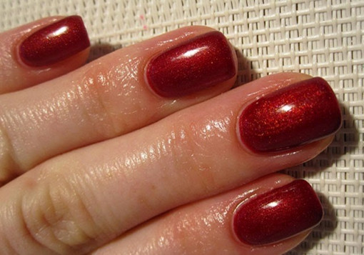Poze Gel color Semilac 070 Pearl Red