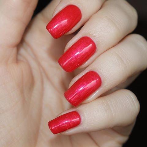 Gel color Semilac 153 Red Magnat