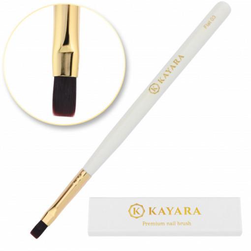 Pensula Premium Kayara Flat 03