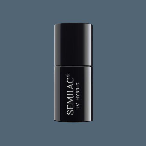 Semilac 525 Legendary Six by Margaret Navy Grey 7ml