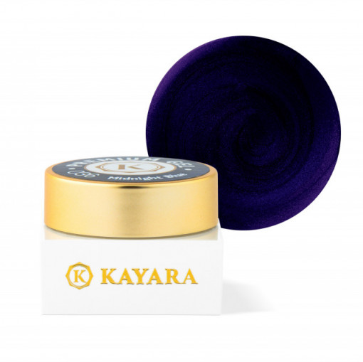 Gel color premium UV/LED Kayara 036 Midnight Blue