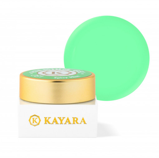 Gel color premium UV/LED Kayara 081 Spicy Mint