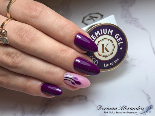 Gel color premium UV/LED Kayara 090 Lie to me