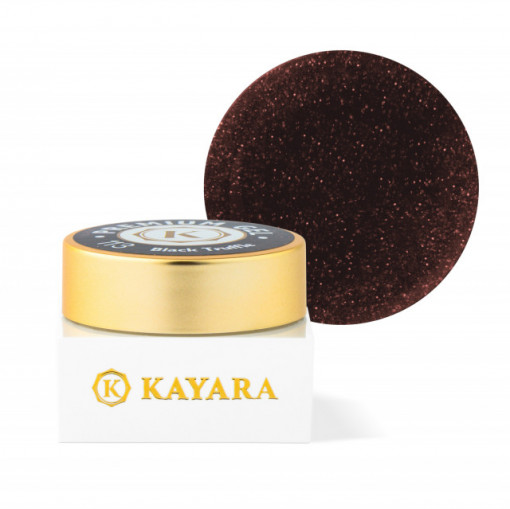 Gel color premium UV/LED Kayara 113 Black Truffle
