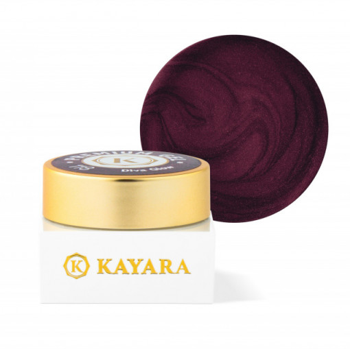 Gel color premium UV/LED Kayara 118 Diva Glow