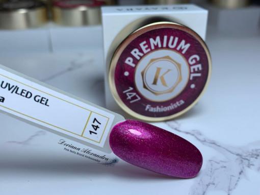 Gel color premium UV/LED Kayara 147 Fashionista