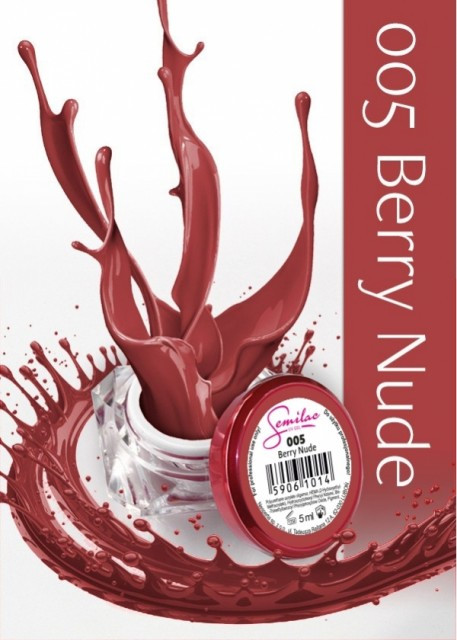 Gel color Semilac 005 Berry Nude 5ml