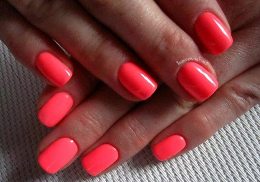 Gel color Semilac 033 Pink Doll