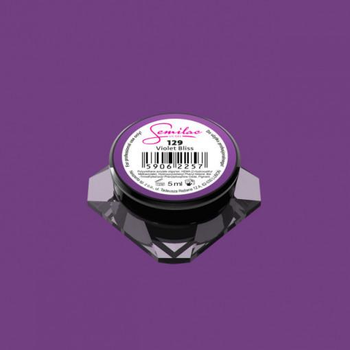 Gel color Semilac 129 Violet Bliss