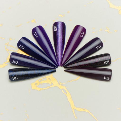 Gel color premium UV/LED Kayara 109 Grape Juice