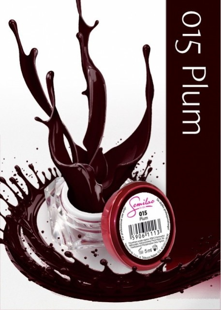 Gel color Semilac 015 Plum 5ml