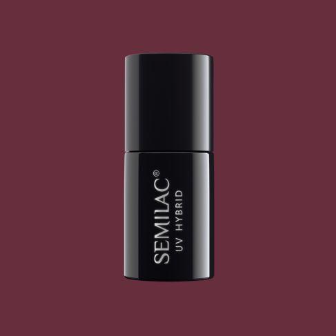 Semilac 527 Legendary Six by Margaret Burgundy 7ml