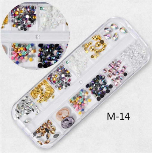 Set Strasuri Mix Design M14