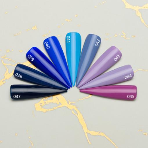 Gel color premium UV/LED Kayara 037 Blue Flame