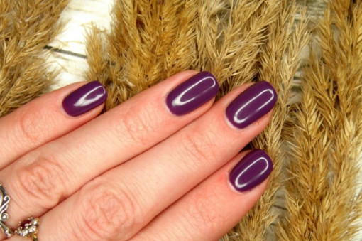 Poze Gel color Semilac 014 Dark Violet Dreams