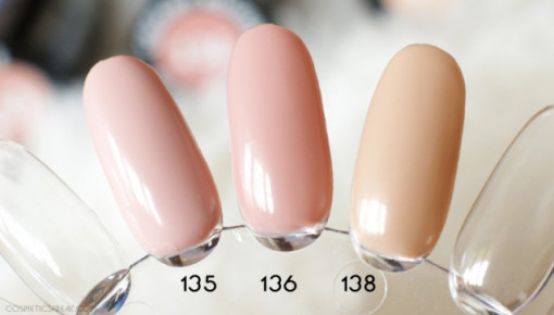 Poze Gel color Semilac 136 Creamy Muffin
