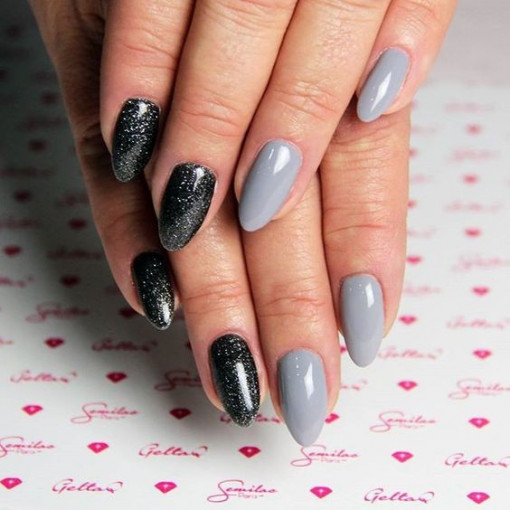 Poze Gel color Semilac 141 Lady in Gray