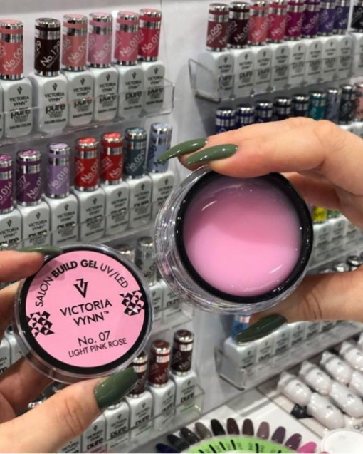 Gel UV/LED 07 Light Pink Rose Victoria Vynn 50ml