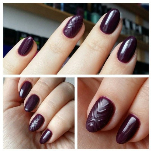 Poze Gel color Semilac 015 Plum