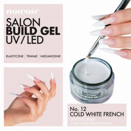 Gel UV/LED 12 Cold White French Victoria Vynn 50ml