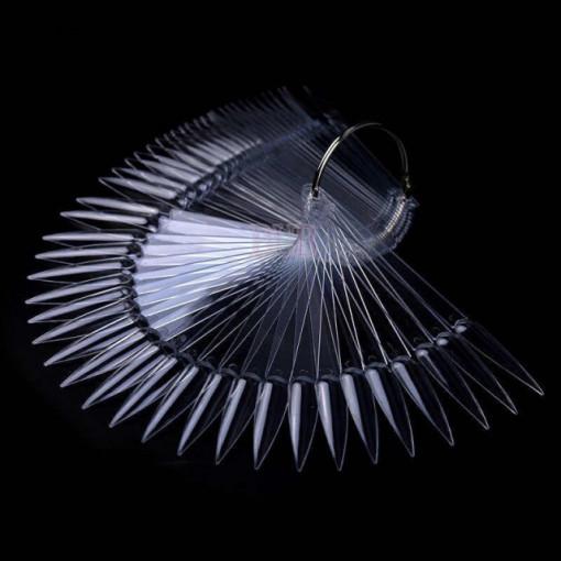 Paletar 40 x tipsuri de prezentare Stiletto Clear