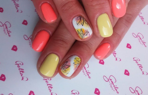 Poze Gel color Semilac 117 Yellow Sphinx