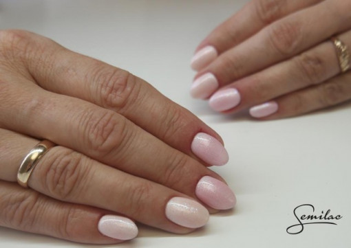 Gel color Semilac 164 Pink Crystals*
