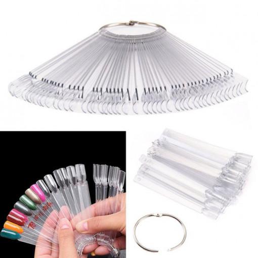 Paletar 50 de tipsuri Clear pentru expunere culori