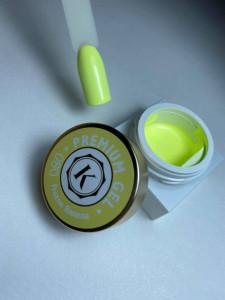 Gel color premium UV/LED Kayara 080 Frozen Banana