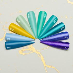 Gel color premium UV/LED Kayara 099 Purple Martin