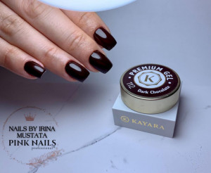 Gel color premium UV/LED Kayara 112 Dark Chocolate