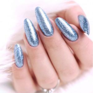 Semilac 255 Platinum Silver Blue 7ml