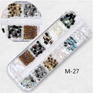 Set Strasuri Mix Design M27