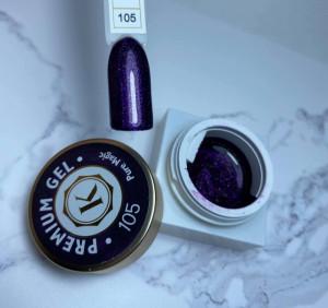 Gel color premium UV/LED Kayara 105 Pure Magic
