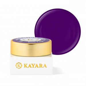 Gel color premium UV/LED Kayara 111 Black Purple