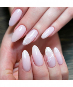 Gel color Semilac 002 Delicate French 5ml