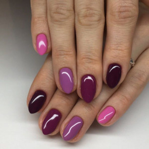 Gel color Semilac 010 Pink & Violet 5ml
