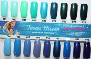 Gel color Semilac 021 Turquoise 5ml