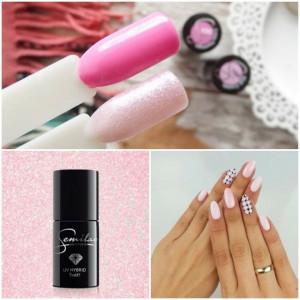 Semilac 164 Pink Crystals 7ml