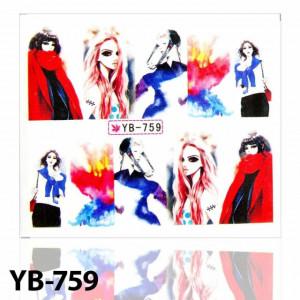 Tatuaj Girls YB-759