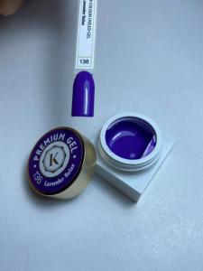 Gel color premium UV/LED Kayara 136 Lavender Relax