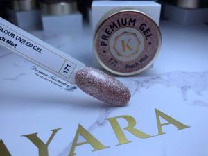 Gel color premium UV/LED Kayara 171 Peach Mist