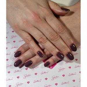 Gel color Semilac 075 Stylish Brown