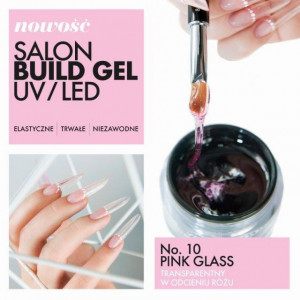 Gel UV/LED 10 Pink Glass Victoria Vynn 50ml
