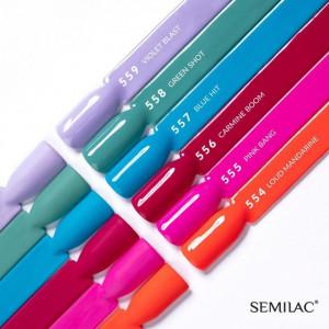 Semilac 556 Carmine Boom - Super Cover 7ml