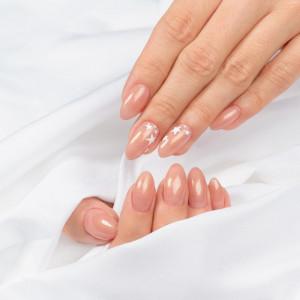 Semilac 804 Glitter Soft Beige - Extend 5in1