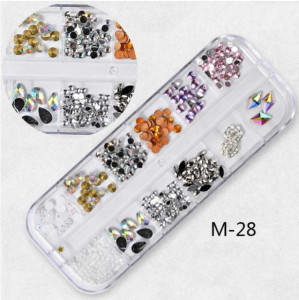 Set Strasuri Mix Design M28